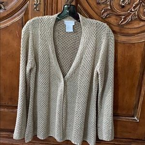 Taupe Sweater from Soft Surroundings